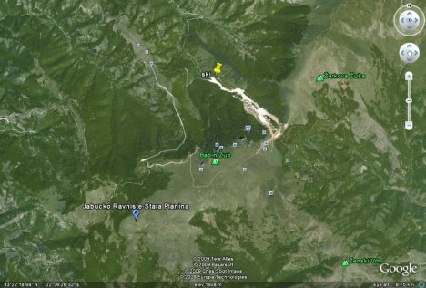 Stara Planina Google Earth