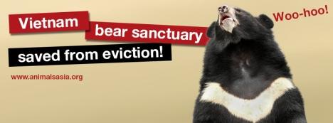 AA woo hoo saved from eviction