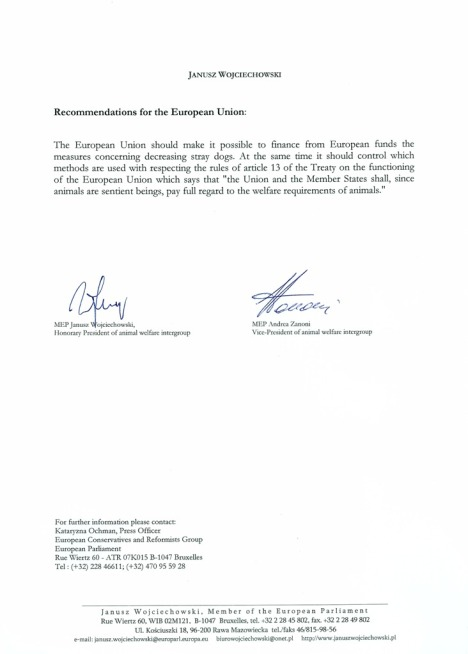 Letter MEPs Janusz Wojciechowski, Andrea Zanoni about visit 4 December in Romania (3)