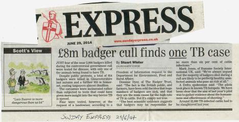 S Ex badgers