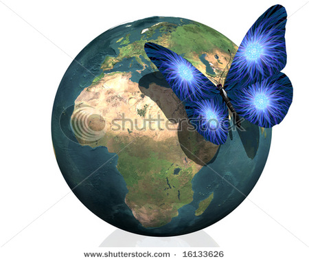 earth butterfly