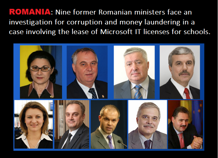 corruption in romania Transparency international is the global civil society organisation leading the fight against corruption.