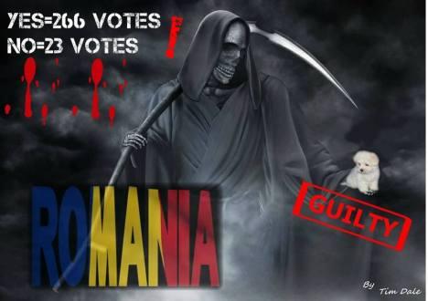 Romania guilty