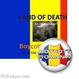 Romania land of death for animals
